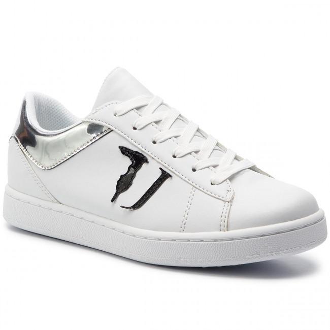scarpe da ginnastica TRUSSARDI JEANS - 79A00387  K299 - scarpe da ginnastica - Scarpe basse - Donna | Outlet  | Uomo/Donna Scarpa