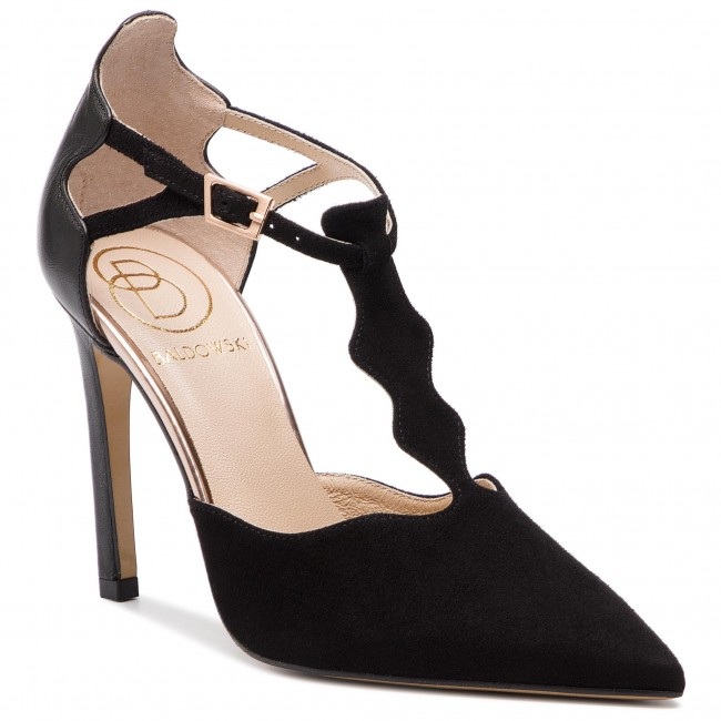 Scarpe stiletto BALDOWSKI - W00605-1451-004 Zamsz Czarny Skóra Czarna - Stiletti - Scarpe basse - Donna | I Consumatori In Primo Luogo  | Scolaro/Signora Scarpa