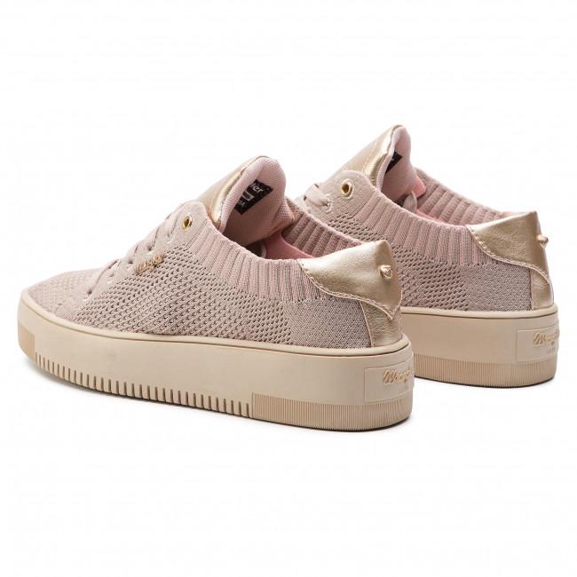Wrangler Knitted Maya Wl91500a Sneakers Rose 080 rCBdxoe