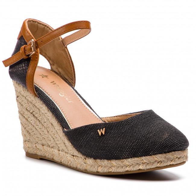 Espadrillas WRANGLER - Rope Brava WL91570A nero 062 - Espadrillas - Ciabatte e sandali - Donna | Design affascinante  | Uomo/Donne Scarpa