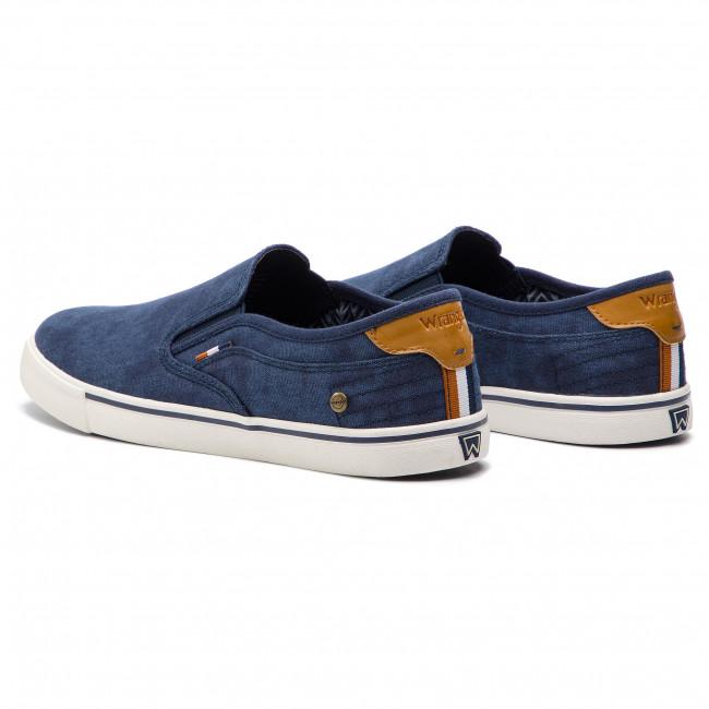 Scarpe sportive WRANGLER - Mitos Slip Slip Slip On WM91101A Royal 014 - Scarpe da ginnastica - Scarpe basse - Uomo | Prestazione eccellente  | Uomo/Donne Scarpa  4f9491