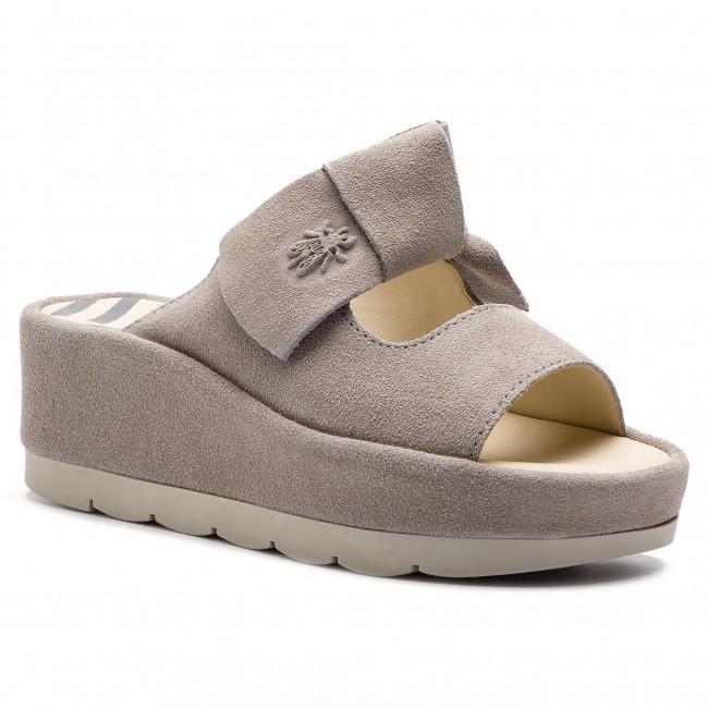 Ciabatte FLY LONDON - Badefly P500954004 Concrete - Ciabatte da giorno - Ciabatte - Ciabatte e sandali - Donna   Eccellente qualità    Sig/Sig Ra Scarpa