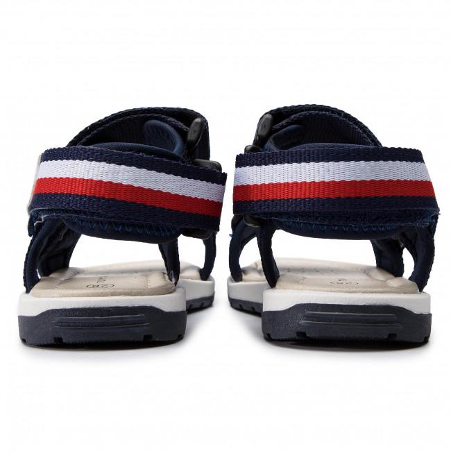 Sandali TOMMY HILFIGER Velcro Sandal T3B2 30396 0034 Blue 800