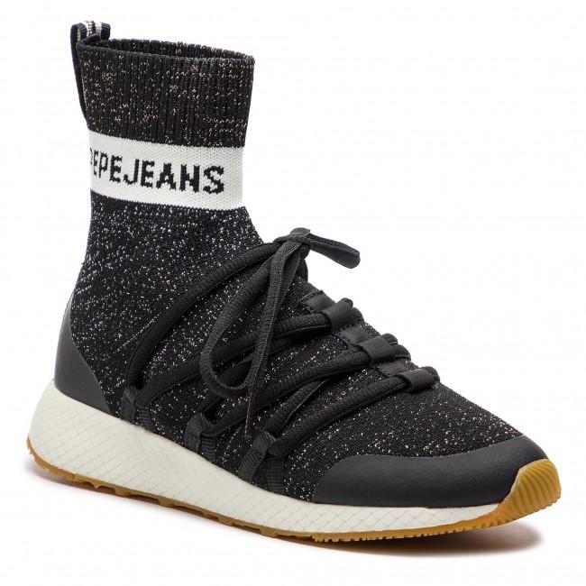 scarpe da ginnastica PEPE JEANS - Koko Sock PLS30742 nero 999 - scarpe da ginnastica - Scarpe basse - Donna | Molte varietà  | Uomini/Donne Scarpa