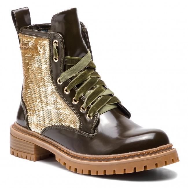 Scarponcini PEPE JEANS - Collie Sequins PLS50340 Safari 734 - Scarpe da trekking e scarponcini - Stivali e altri - Donna | Vendita Calda  | Uomini/Donna Scarpa