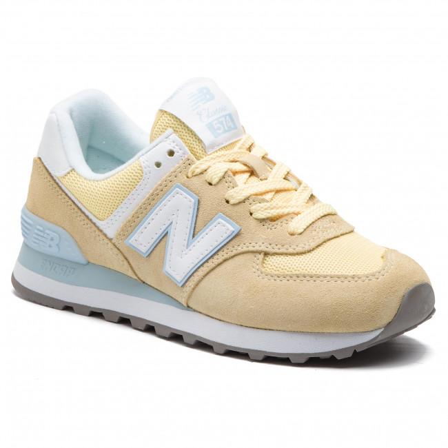 2ef3e686767b3 Sneakers NEW BALANCE - WL574ESG Giallo - Sneakers - Scarpe basse ...