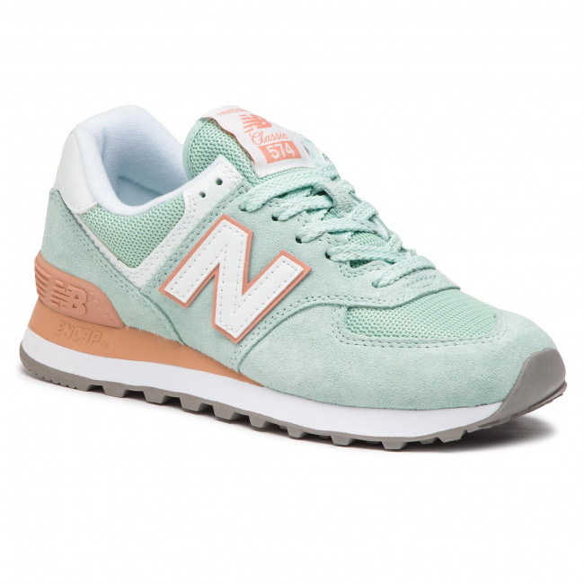 scarpe da ginnastica NEW BALANCE - WL574ESE  verde - scarpe da ginnastica - Scarpe basse - Donna | Una Grande Varietà Di Merci  | Uomini/Donna Scarpa