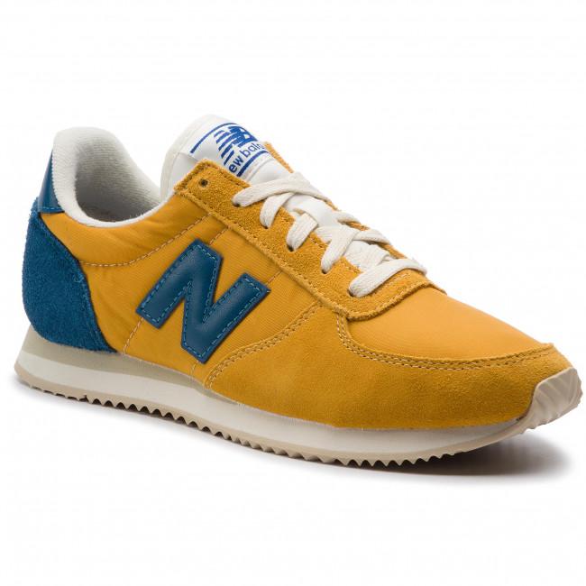 66bdd3282b314 Sneakers NEW BALANCE - U220FG Giallo - Sneakers - Scarpe basse ...