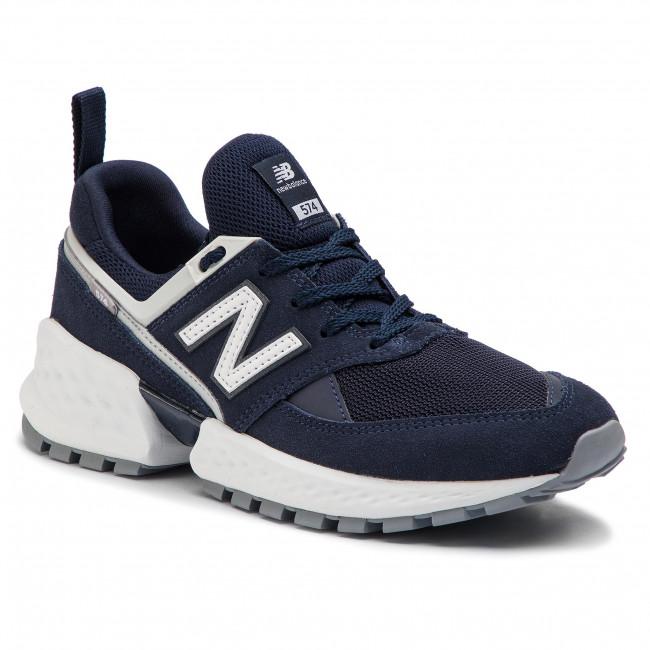 Sneakers NEW BALANCE - MS574NSA Blu scuro - Sneakers - Scarpe basse ... dd329b8d8ba