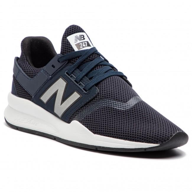 Sneakers NEW BALANCE - MS247FD Blu scuro - Sneakers - Scarpe basse ... 4b77e07e5a5