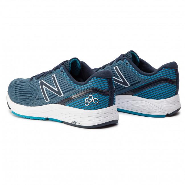 865b5648a6 Scarpe NEW BALANCE - M890LG6 Blu scuro - Scarpe da allenamento ...