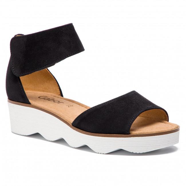 Sandali GABOR - 21.610.17 nero - Sandali da giorno - Sandali - Ciabatte e sandali - Donna | Conveniente  | Maschio/Ragazze Scarpa