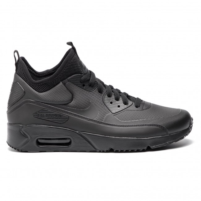 separation shoes 445bf 52c85 Scarpe NIKE - Air Max 90 Ultra Mid Winter 924458 004 Black Black Anthracite