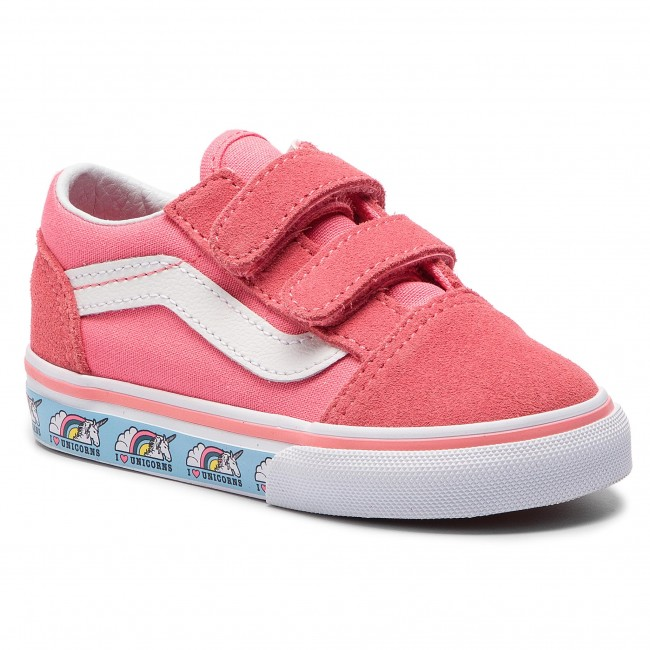 unicorn Vn0a344kve01 Scarpe Vans Skool Sportive Old V Strawberry wqPxBRq