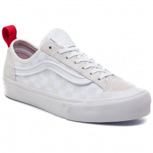 Scarpe sportive VANS - Style 36 Decon Sf VN0A3MVLVL81   (Leila Hurst) bianca Check - Scarpe da ginnastica - Scarpe basse - Donna   Moderato Prezzo    Gentiluomo/Signora Scarpa