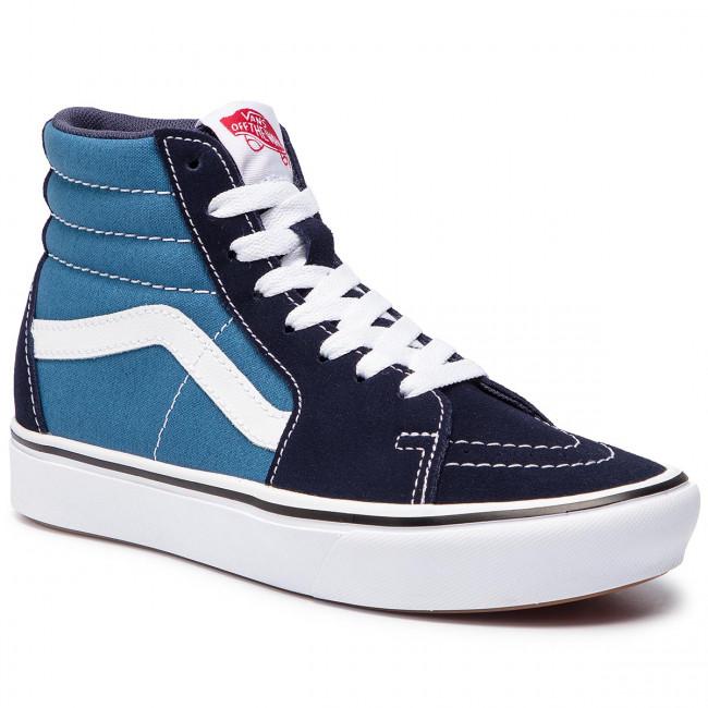 scarpe da ginnastica VANS - Comfycush Sk8-Hi VN0A3WMBVNT1 (Classic) Navy Stv Navy - scarpe da ginnastica - Scarpe basse - Donna | Prezzo Moderato  | Uomo/Donne Scarpa