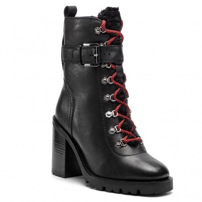 Tronchetti BRONX - 34089-H BX 1434 nero 01 - Tronchetti - Stivali e altri - Donna | Di Progettazione Professionale  | Scolaro/Ragazze Scarpa