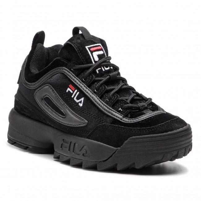 scarpe da ginnastica FILA - Disruptor V Low Wmn 1010440.12V nero nero - scarpe da ginnastica - Scarpe basse - Donna | 2019 Nuovo  | Scolaro/Ragazze Scarpa