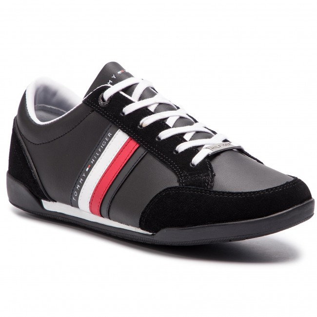 Tommy hilfiger Sneakers F.gomma Leather mix high top cupsole