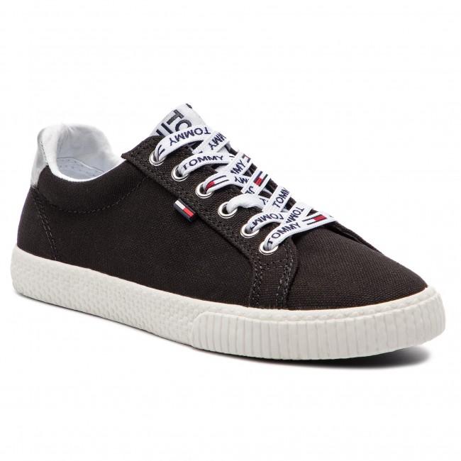 Scarpe sportive TOMMY JEANS - Casual scarpe da ginnastica EN0EN00125  nero 990 - Scarpe da ginnastica - Scarpe basse - Donna | Dall'ultimo modello  | Uomo/Donna Scarpa
