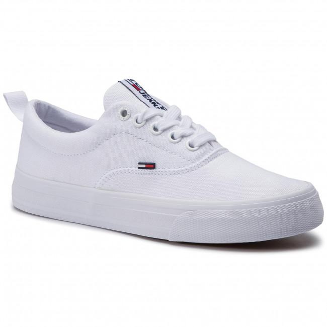 Scarpe sportive TOMMY JEANS - Classic Tommy Jeans Sneaker EN0EN00540 White  100 57d0ac07520