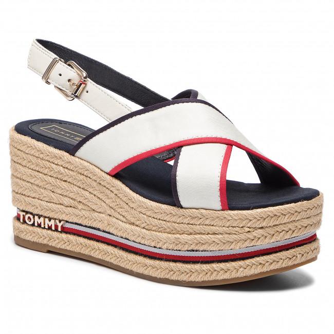 Hilfiger Flatform Sandal Ribbon Espadrillas Tommy Corporate IYyvf7gmb6