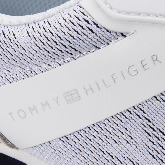f7a7939ec0 Sneakers TOMMY HILFIGER - Tommy Jacquard City Sneaker FW0FW04026 Rwb 020 -  Sneakers - Scarpe basse - Donna - www.escarpe.it