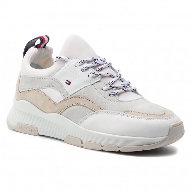 scarpe da ginnastica TOMMY HILFIGER - Lifestyle scarpe da ginnastica FW0FW04115 bianca 100 - scarpe da ginnastica - Scarpe basse - Donna | Elegante Nello Stile  | Gentiluomo/Signora Scarpa