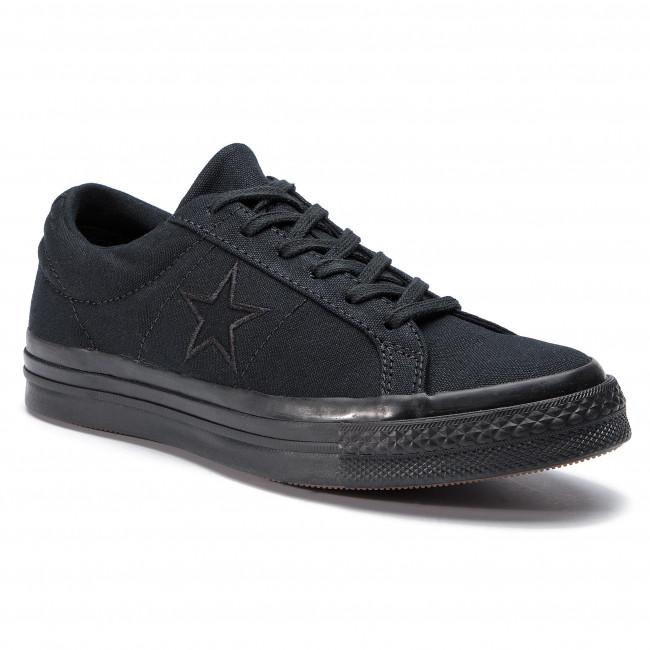 Scarpe sportive CONVERSE - One Star Ox 163380C nero nero nero - Scarpe da ginnastica - Scarpe basse - Donna | Molti stili  | Scolaro/Signora Scarpa