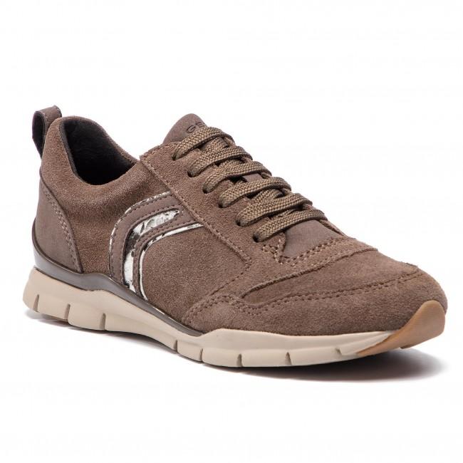 scarpe da ginnastica GEOX - D Sukie A D84F2A 022AU C6004 Chestnut - scarpe da ginnastica - Scarpe basse - Donna | Ottima selezione  | Maschio/Ragazze Scarpa