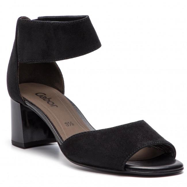 Sandali GABOR - 81.730.17 nero - Sandali da giorno - Sandali - Ciabatte e sandali - Donna | A Basso Prezzo  | Uomini/Donna Scarpa