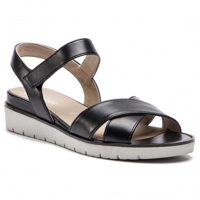 Sandali GABOR - 85.500.87 nero - Sandali da giorno - Sandali - Ciabatte e sandali - Donna | Funzione speciale  | Gentiluomo/Signora Scarpa