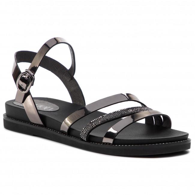 Sandali SCA'VIOLA - B-116 Pewter - Sandali da giorno - Sandali - Ciabatte e sandali - Donna   Exquisite (medio) lavorazione    Sig/Sig Ra Scarpa