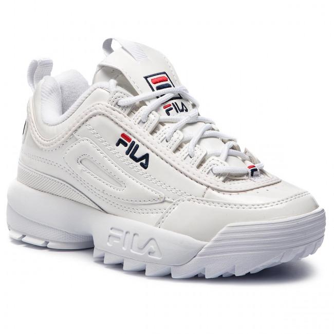 scarpe da ginnastica FILA - Disruptor M Low Wmn 1010441.1FG bianca - scarpe da ginnastica - Scarpe basse - Donna | Credibile Prestazioni  | Maschio/Ragazze Scarpa