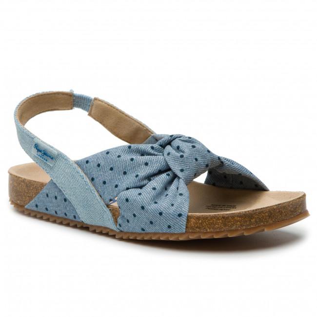Sandali PEPE JEANS - Bio Jeans PGS90128 Denim 000 - Sandali da giorno - Sandali - Ciabatte e sandali - Donna | Tecnologia moderna  | Maschio/Ragazze Scarpa