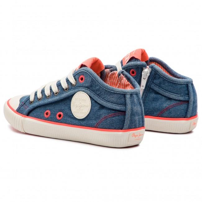 Ginnastica Scarpe Industry Denim Pls30846 Pepe Jeans Da Neon 000 K1lFJcT