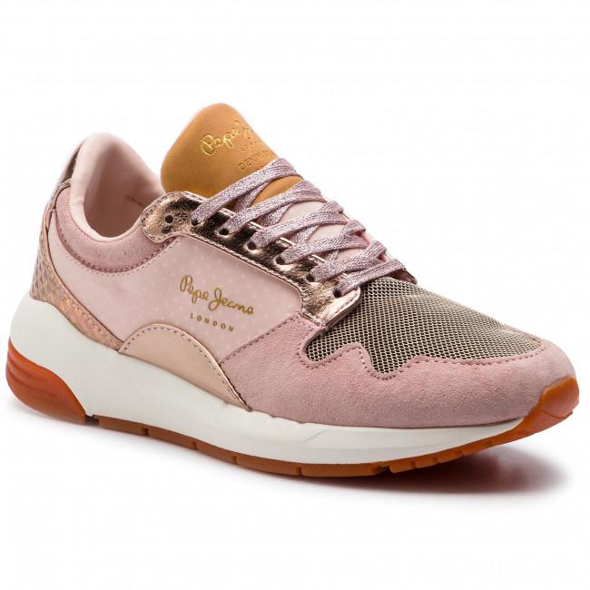 scarpe da ginnastica PEPE JEANS - Foster Maya PLS30857  Nude 311 - scarpe da ginnastica - Scarpe basse - Donna | Il Nuovo Prodotto  | Sig/Sig Ra Scarpa