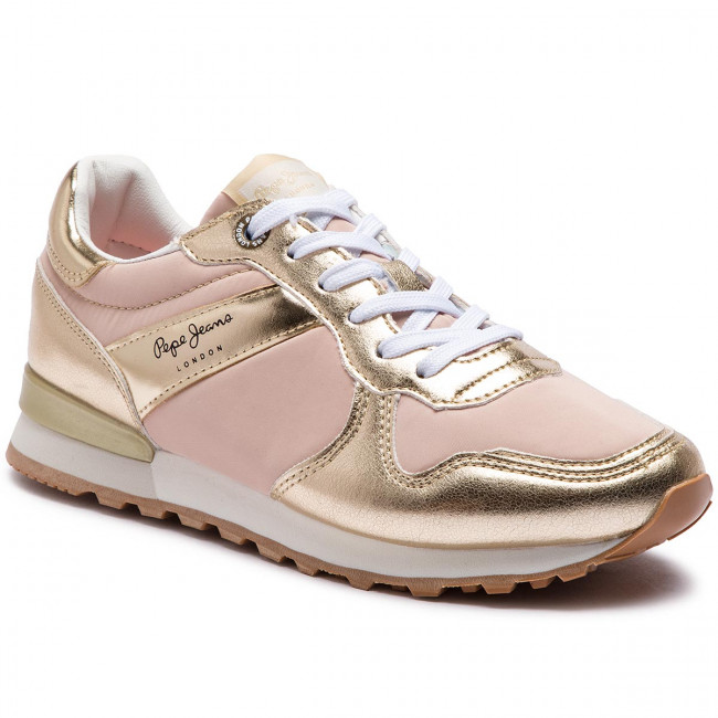 scarpe da ginnastica PEPE JEANS - Verona W Greek PLS30873 oro 099 - scarpe da ginnastica - Scarpe basse - Donna | Per tua scelta  | Uomini/Donne Scarpa