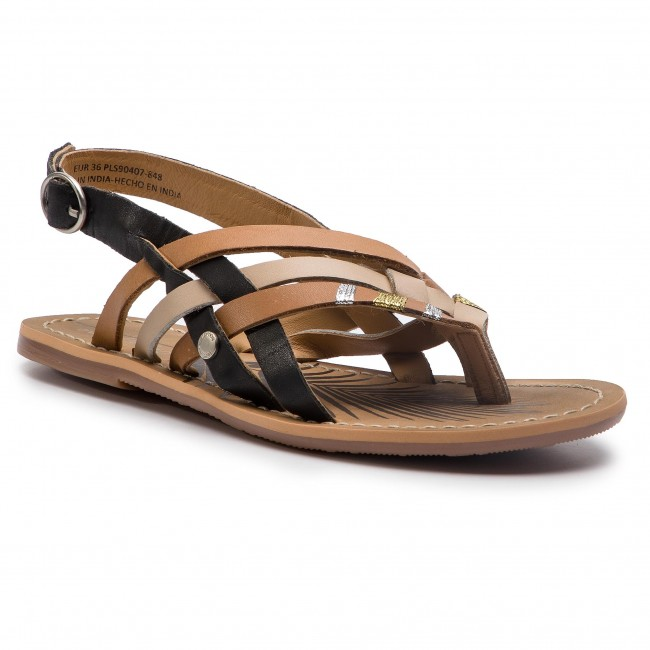 Sandali PEPE JEANS - Malibu Essential PLS90407 Bare 848 - Sandali da giorno - Sandali - Ciabatte e sandali - Donna   Buon design    Sig/Sig Ra Scarpa