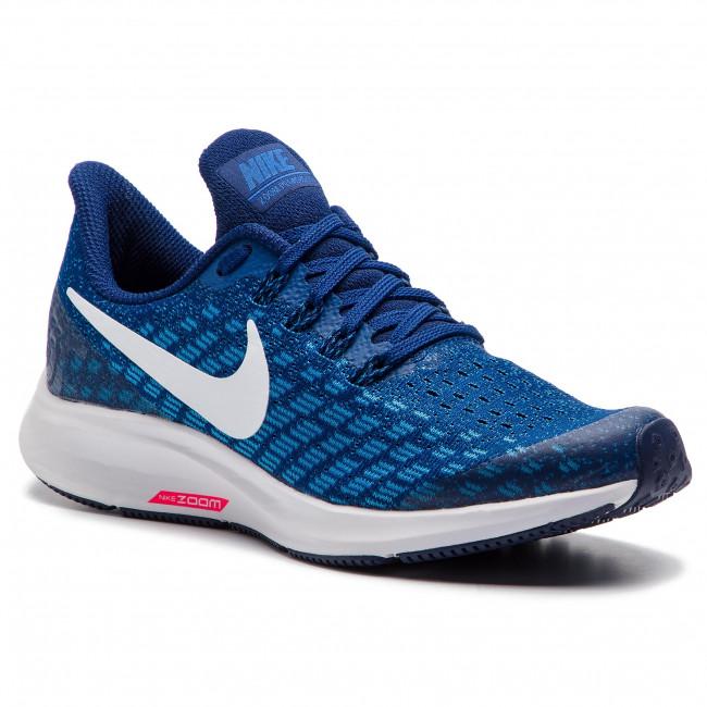 Scarpe NIKE - Air Zoom Pegasus 35 (GS) AH3482 404 Indigo Force bianca Photo blu - Scarpe da allenamento - Running - Scarpe sportive - Donna | Costi Moderati  | Gentiluomo/Signora Scarpa
