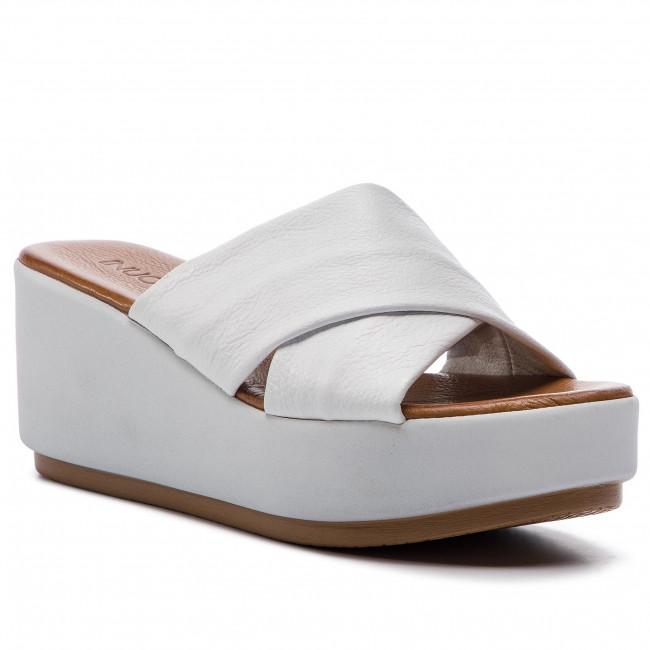 Ciabatte INUOVO - 123001  bianca - Zeppe - Ciabatte e sandali - Donna | Di Modo Attraente  | Uomini/Donne Scarpa