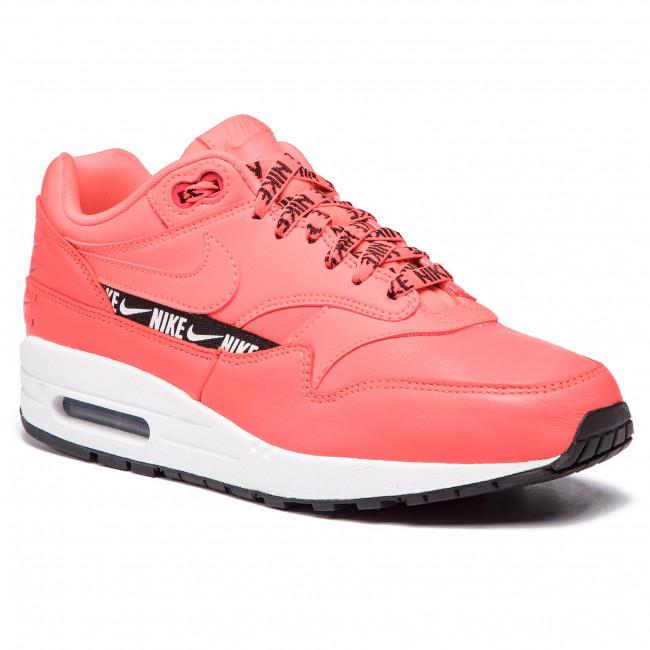 Scarpe NIKE - Air Max 1 Se 881101 602 Bright Crimson Bright Crimson - scarpe da ginnastica - Scarpe basse - Donna   Lascia che i nostri prodotti vadano nel mondo    Maschio/Ragazze Scarpa