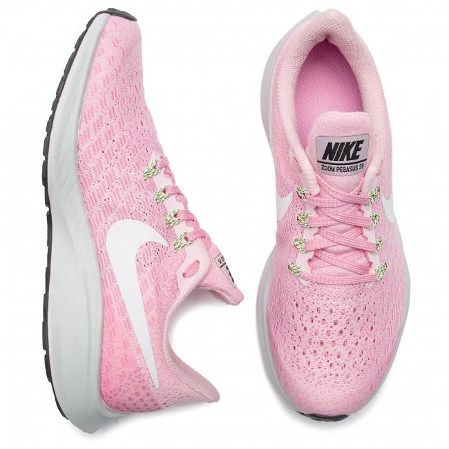 Scarpe NIKE Air Zoom Pegasus 35 (GS) AH3481 600 Pink FoamWhite Pink Rise