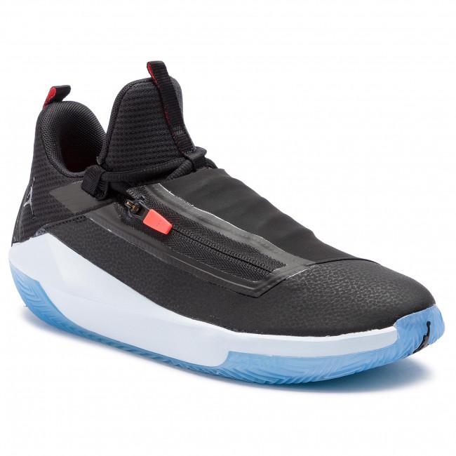 online retailer f8246 c505e Scarpe NIKE - Jordan Jumpman Hustle AQ0397 004 Black Black Half Blue