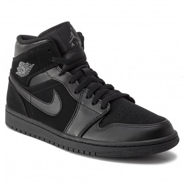 purchase cheap 2721e cb71f Scarpe NIKE - Air Jordan 1 Mid 554724 050 Black Dark Grey Black