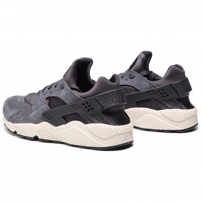 Scarpe NIKE - Air Huarache Run Prm Prm Prm 704830 016 Anthracite/Black/Light Bone - Sneakers - Scarpe basse - Uomo 2cd0a5