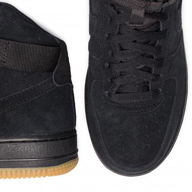 Nike Scarpe Air Force 1 High Lv8 (GS) 807617 002 BlackBlack