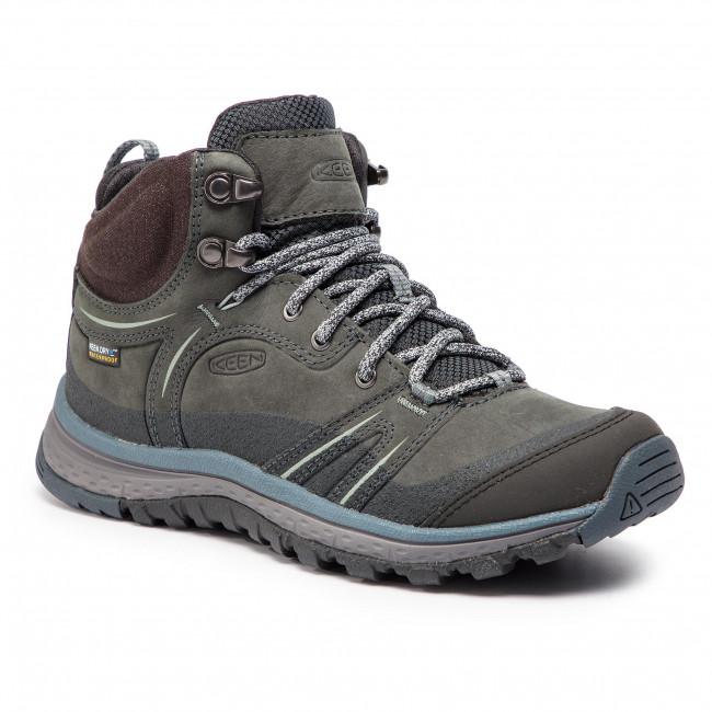 4b4fe35cb78 Scarpe da trekking KEEN - Terradora Leather Mid Wp 1019890 Tarragon  Turbulence