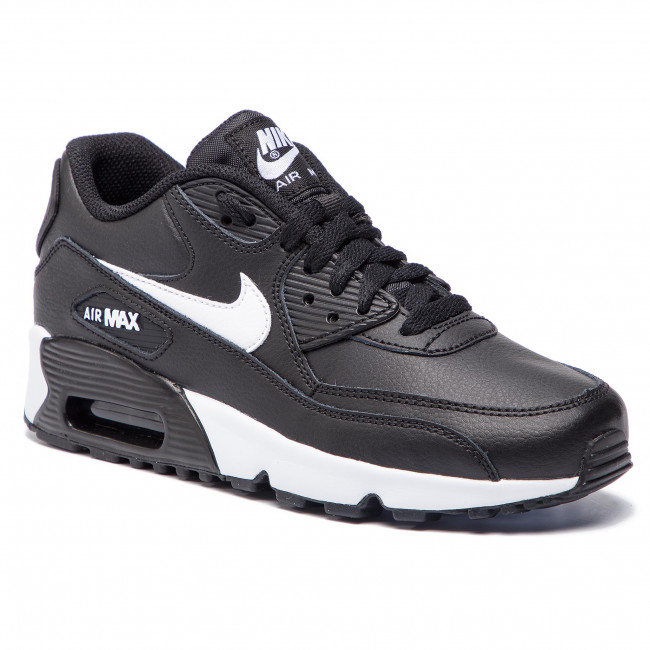 new arrival 547f0 1bf0b Scarpe NIKE - Air Max 90 Ltr 90 (GS) 833412 025 Black Whit