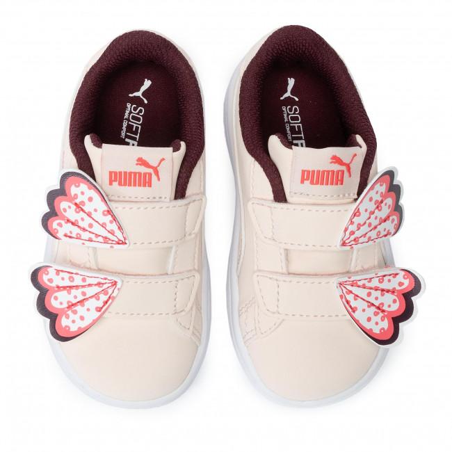 Sneakers PUMA Smash V2 Butterfly V Inf 370096 03 Pastel ParchmentVineyard